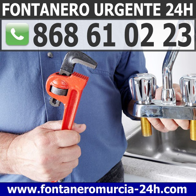 Fontanero Urgente en Algezares