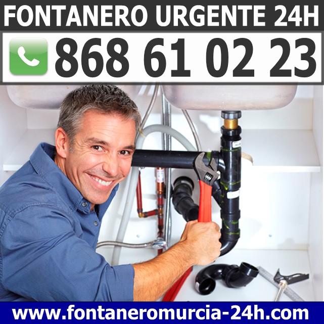 Fontanero Urgente en Lorquí