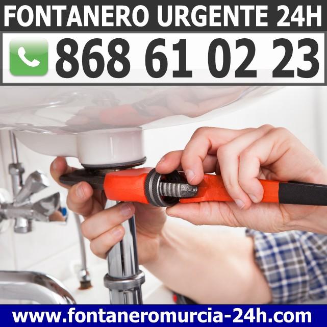 Fontanero Urgente en Murcia