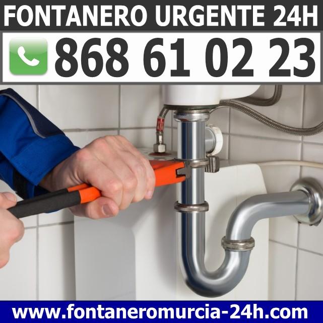 Fontanero Urgente en Santomera