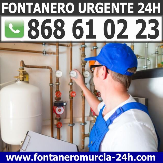 Fontanero Urgente en Las Torres de Cotillas