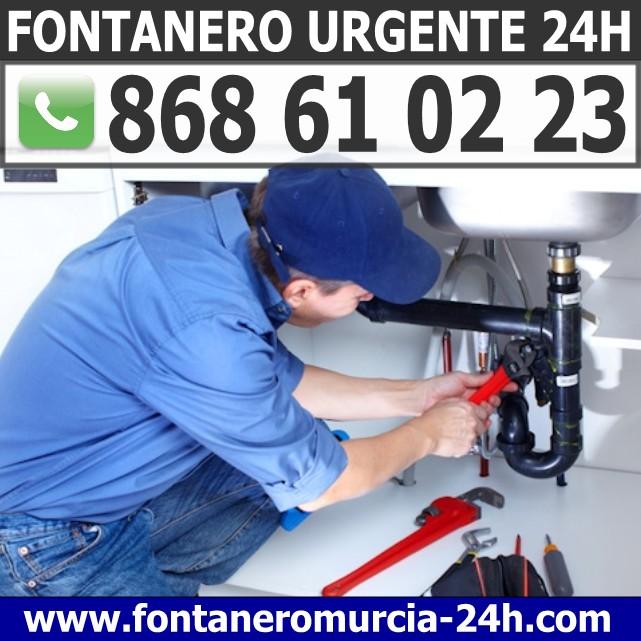Fontanero Urgente en Beniel