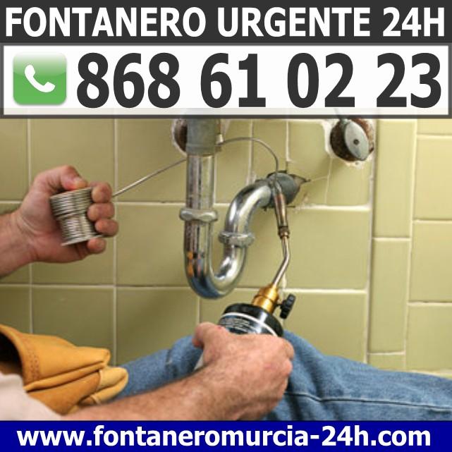 Fontanero Urgente en Torre Pacheco