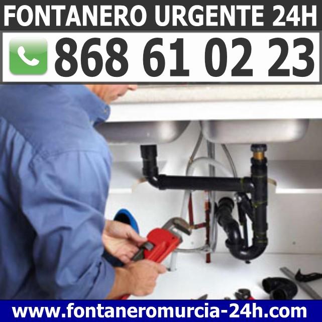 Fontanero Urgente en Espinardo