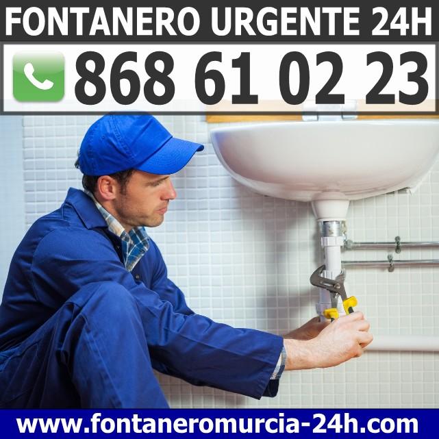 Fontanero Urgente en Sangonera la Seca