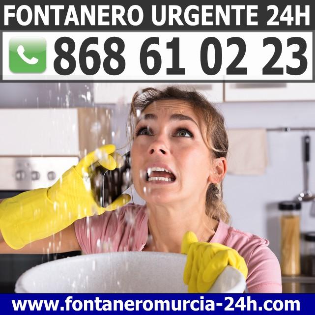 Fontanero Urgente en Santiago de la Ribera