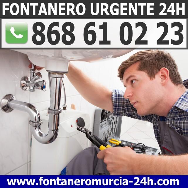 Fontanero Urgente en Molina de Segura