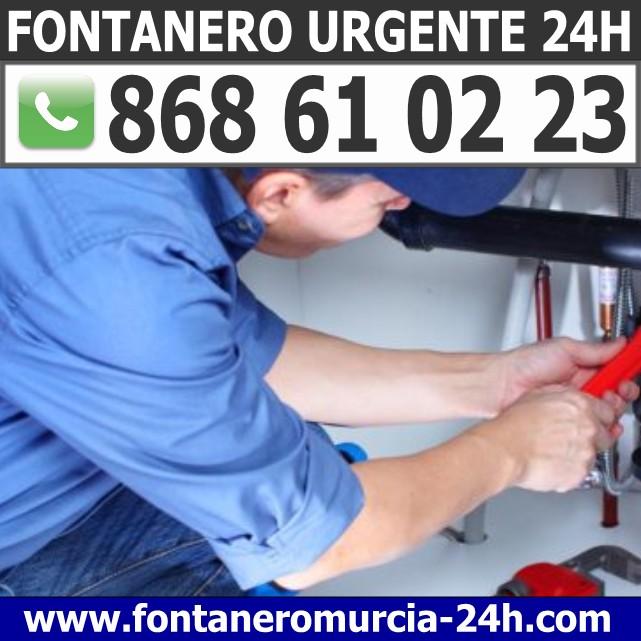 Fontanero Urgente en Sangonera la Verde